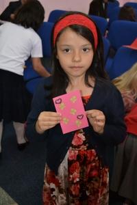 Sabina, mulţumită ca poate răsplăti părinţilor aşa cum e plăcut înaintea lui Dumnezeu.